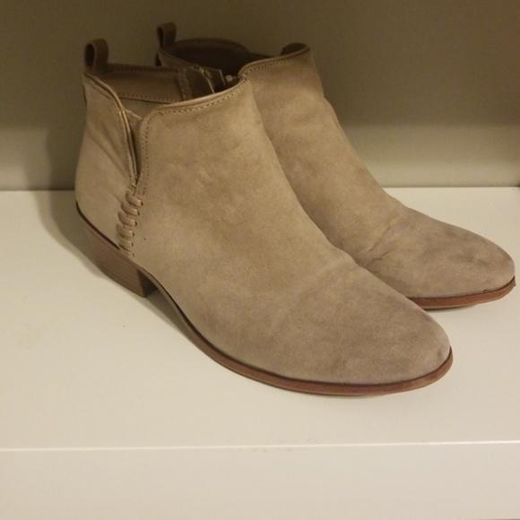 0406ffee1aa4f Sam & Libby Shoes | Sam Libby Light Grey Booties | Poshmark